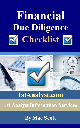 financial due diligence checklist