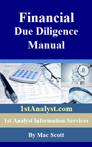 financial due diligence manual